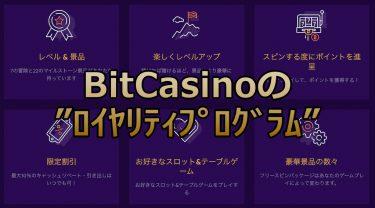 ビットカジノのロイヤリティプログラム